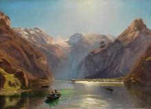 Уходящее лето, озеро Кёнигзе и горный массив Дахштайн - Хлавачек, Антон