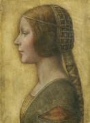 Женский портрет в профиль - Винчи, Леонардо да
