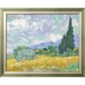 Пшеничное поле с кипарисами - Гог, Винсент ван