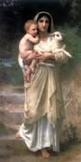 Пастушка - Бугро, Адольф Вильям