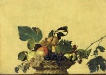 Корзина с фруктами - Караваджо, Микеланджело Меризи да