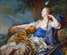 Пейзаж с Дианой, 1739 - Лоо, Луи-Мишель ван