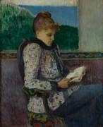 Чтение от окна, 1892 - Море, Анри