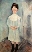 Девочка в голубом - Модильяни, Амадео