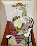 Женщина в кресле - Пикассо, Пабло