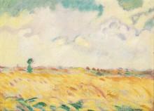 Пшеничное поле в Нормандии - Вальта, Луи