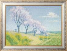 Миндальные деревья в цвету, Од - Ложе,  Ашиль