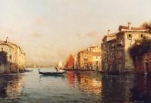 Гранд канал, Венеция - Бувар, Антуан