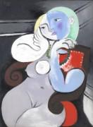 Обнаженная в красном кресле - Пикассо, Пабло