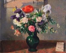 Букет цветов - Писсарро, Камиль