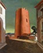 Розовая башня - Кирико, Джорджо де