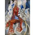 Красная Эйфелева башня - Делоне, Роберт
