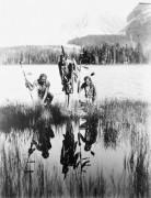 Индейцы возле озера - Гендро, Филипп