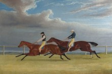 Финиш, 1827г, Санкт-Леже -  Герринг, Джон Фредерик