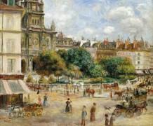 Площадь Святой Троицы - Ренуар, Пьер Огюст