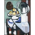 Натюрморт с бюстом, чашкой и палитрой - Пикассо, Пабло