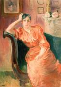 Жанна Понтийон, племянница художницы - Моризо, Берта