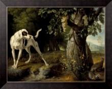 Пейзаж с собакой и куропатками - Депорте, Александр-Франсуа
