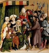 Вурцахский алтарь - Христос перед Пилатом - Мульчер, Ханс