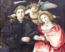 Семейный портрет, 1523 - Лотто, Лоренцо