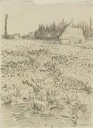 Ландшафт с хижиной (Landscape with Hut), 1888 - Гог, Винсент ван