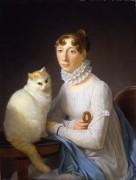 Дама с кошкой - Жерар, Маргерит