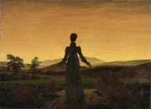 Женщина перед восходящим солнцем, 1818-20 - Фридрих, Каспар Давид