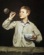 Мальчик с мыльными пузырями - Мане, Эдуард
