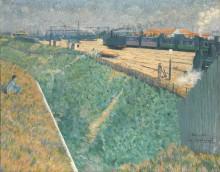 Западная железная дорога на выезде из Парижа -  Энгранд, Чарльз