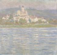 Вефейл в пасмурную погоду, 1901 - Моне, Клод