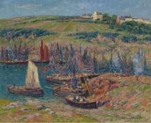 Ловцы сардины в Дуэлан, 1909 - Море, Анри