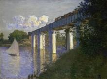 Железнодорожный мост в Аржантее - Моне, Клод