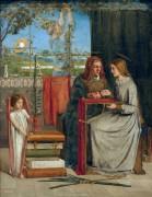 Юность Девы Марии - Россетти, Данте Габриэль