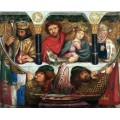 Свадьба святоого Георгия - Россетти, Данте Габриэль