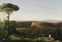 Итальянский пейзаж - Коул, Томас