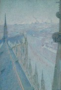Нанси, вид кафедрального собора, 1907 - Коль, Мишель-Огюст