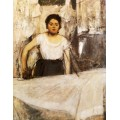 Гладильная, 1869 - Дега, Эдгар