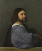 Мужчина со стеганым рукавом - Тициан Вечеллио