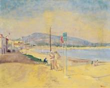 На пляже -  Адрион, Лусьен