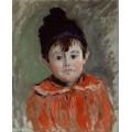 Портрет Мишеля в шапочке с помпоном - Моне, Клод