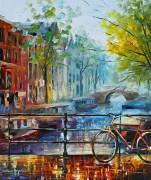 Велосипед. Амстердам - Афремов, Леонид (20 век)