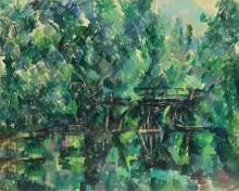 Мост над прудом - Сезанн, Поль