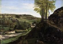 Пейзаж близ Орнана - Курбе, Гюстав