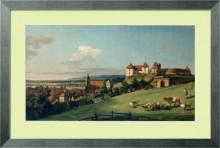 Вид Пирны от замка Зонненштайн - Беллотто, Бернардо