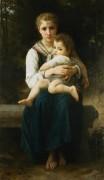Две сестры - Бугро, Адольф Вильям