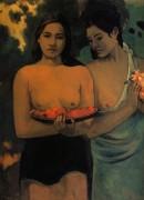 Две таитянки, 1899 - Гоген, Поль