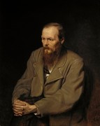 Портрет писателя Федора Михайловича Достоевского - Перов, Василий Григорьевич