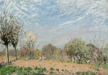 Цветущие яблони, Лувесьен - Сислей, Альфред
