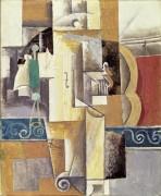 Скрипка и гитара - Пикассо, Пабло