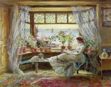 Чтение у окна - Льюис, Чарльз Джеймс